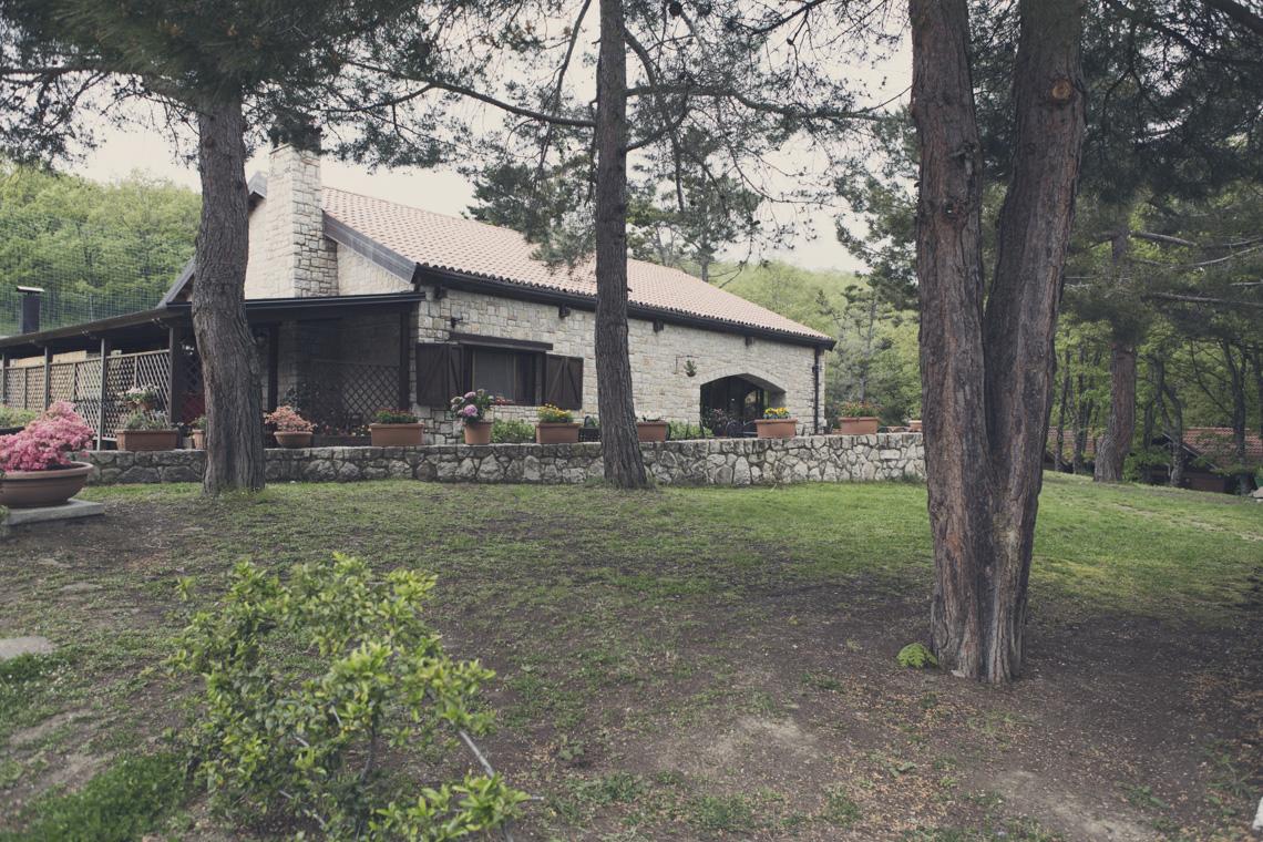 la casa nel bosco anzi potenza ristorante