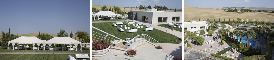 location hilton garden preparazione