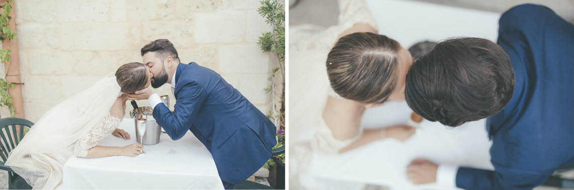 married groom bride sassi matera
