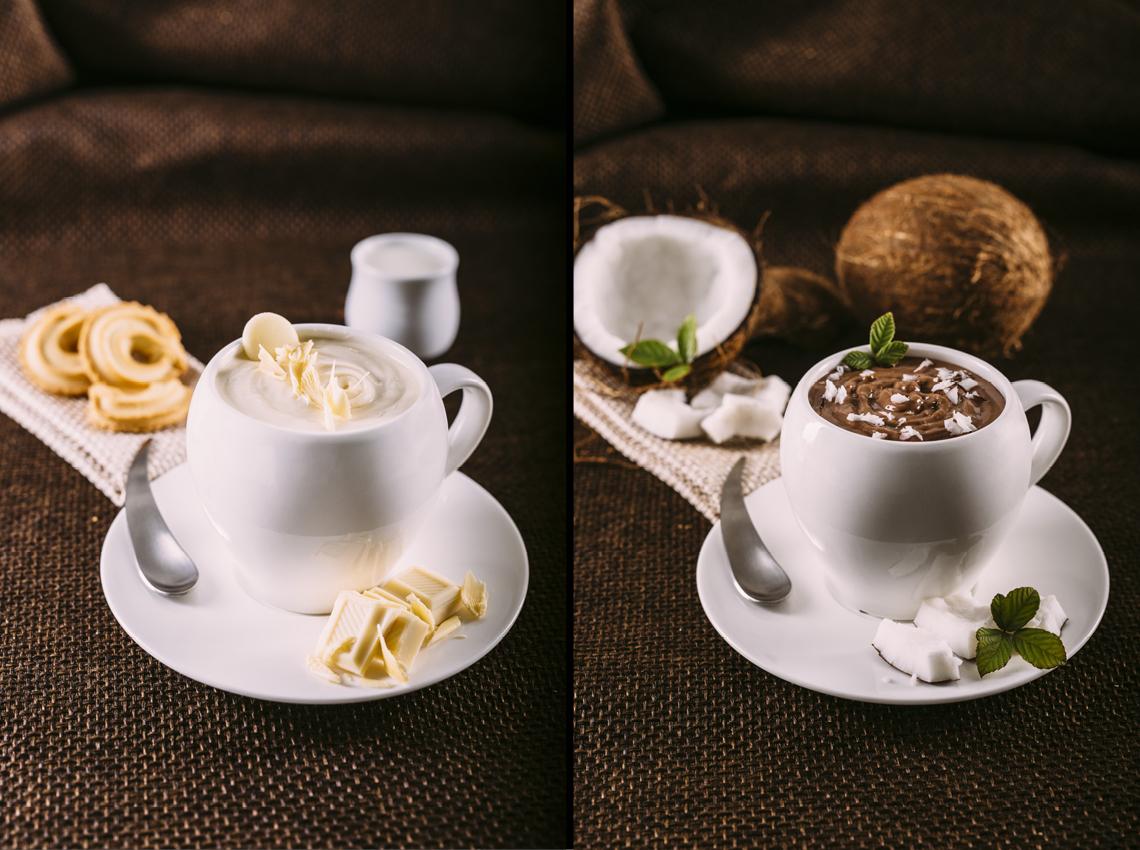 naturale gustosa cioccolata bianca fondente