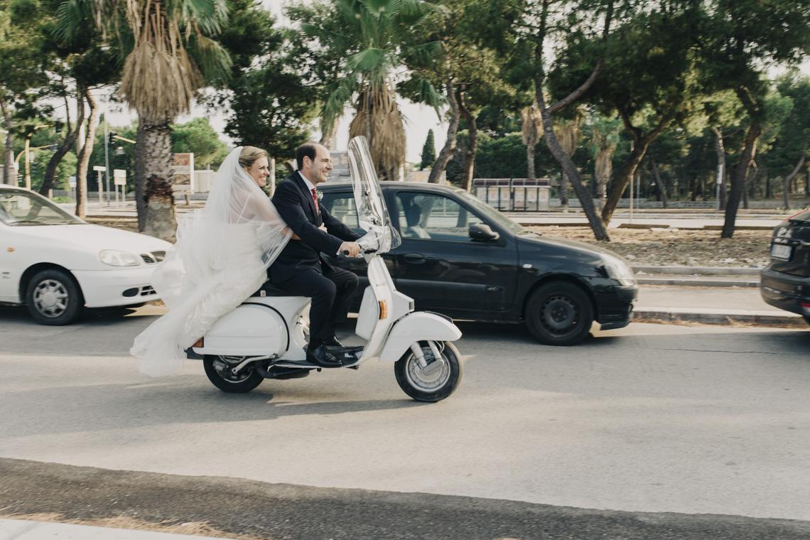 vespa piaggio wedding