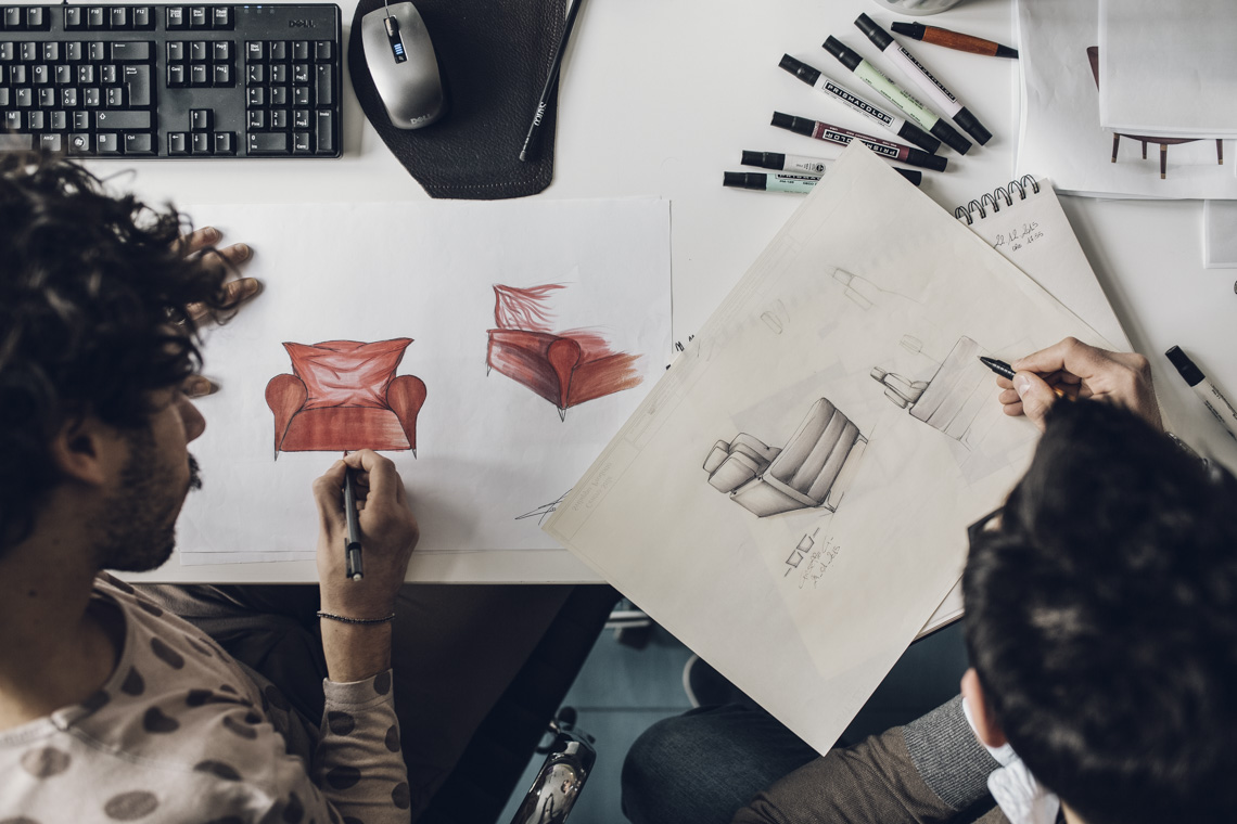 design desainers natuzzi ricerca