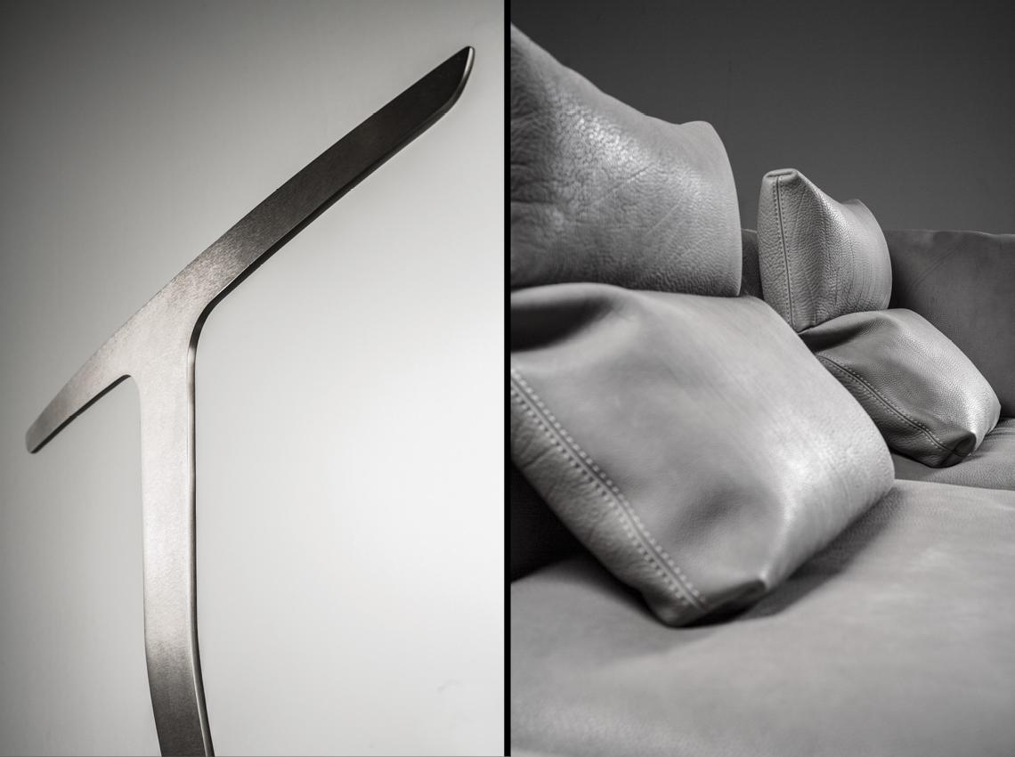 natuzzi fotografia giuseppe manzi herman divano pelle