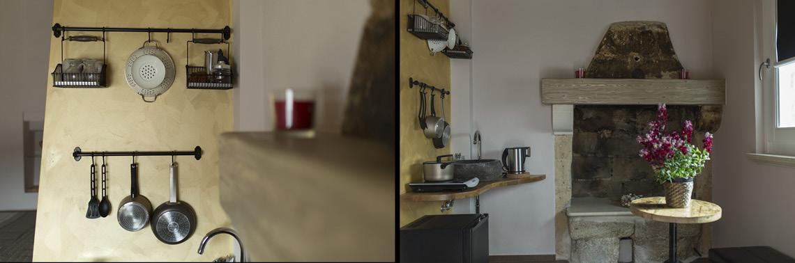 cucina kitchen matera camino sassi