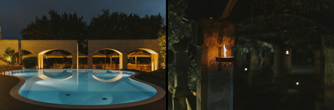 night party piscina hotel matera