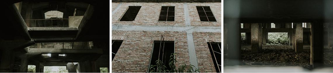 fabbrica abbandonata mattoni matera