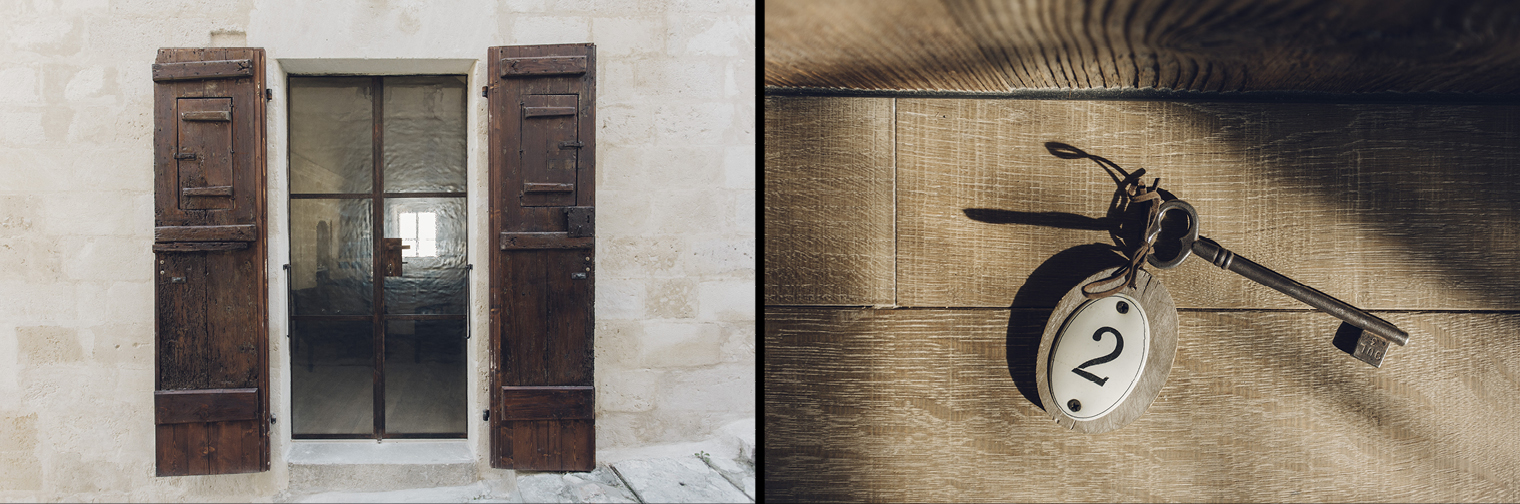 door wood matera accomodation palazzotto luxury
